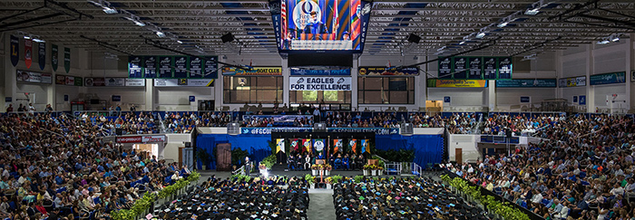 Commencement Stage for FGCU Graduation