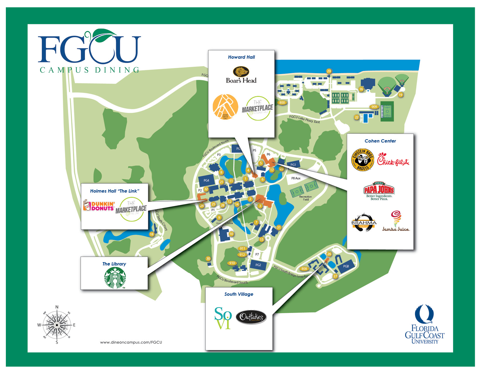FGCU Dining Options