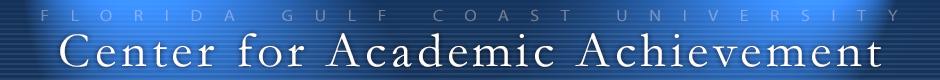 Center for Academic Achievement