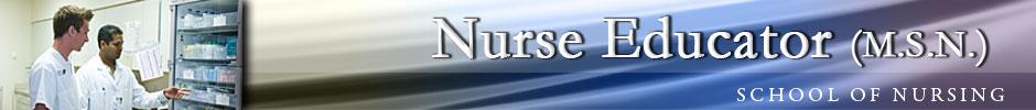 Nurse Educator (M.S.N.)