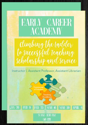 Early Career Academy Flyer