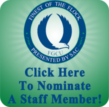 Click to nominate a Staff Member Finest of the Flock