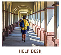 faculty staff - help desk link