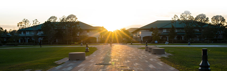 Sunset at FGCU
